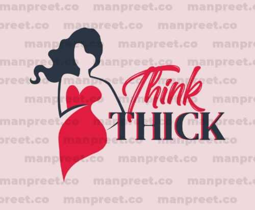Think Thick Character